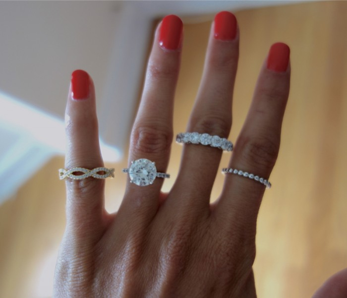 Image 5 of How to Pair Jewelry With Your Engagement Ring with Hearts On Fire
