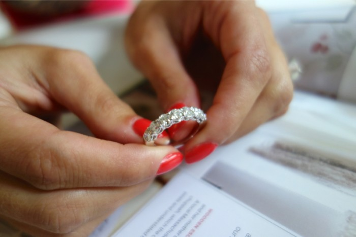 Image 2 of How to Pair Jewelry With Your Engagement Ring with Hearts On Fire
