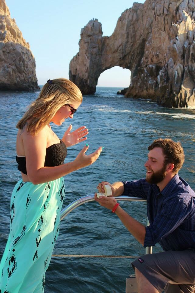 Marriage Proposal in Cabo San Lucas
