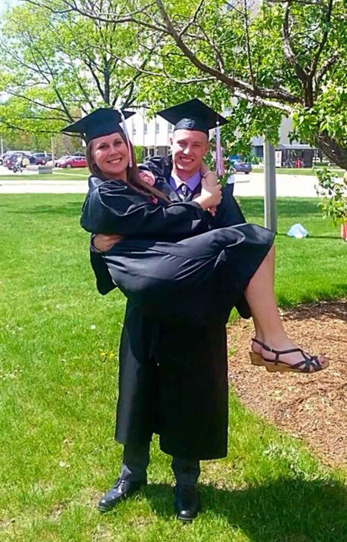 Graduation from Illinois State University!