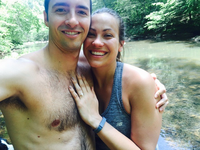 Image 3 of Sarah and Jeff's Hiking Proposal