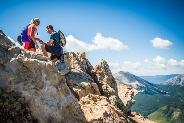 Proposal at Crested Butte