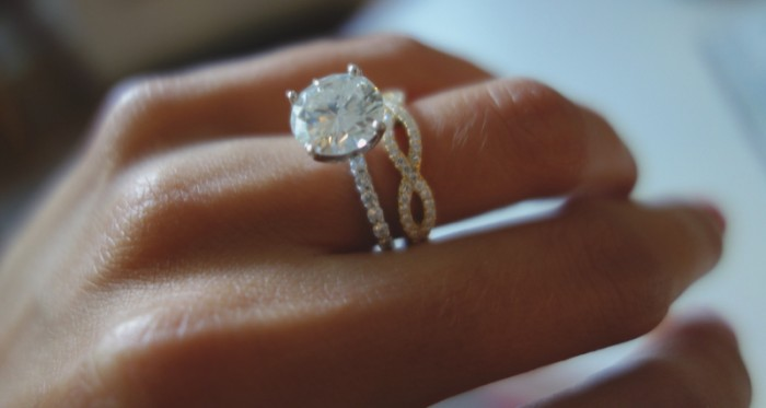 Image 1 of How to Pair Jewelry With Your Engagement Ring with Hearts On Fire