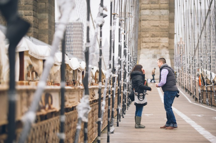Image 2 of Sascha and Kathrin's Brooklyn Bridge Proposal