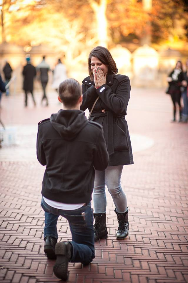Image 3 of Rachel and Chris's Central Park Proposal