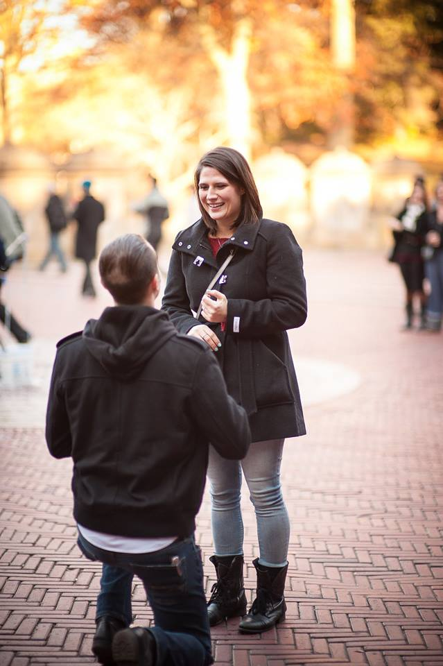 Image 2 of Rachel and Chris's Central Park Proposal