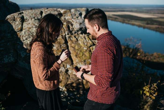 Image 4 of Brittney and Andy's Fake Photoshoot Proposal