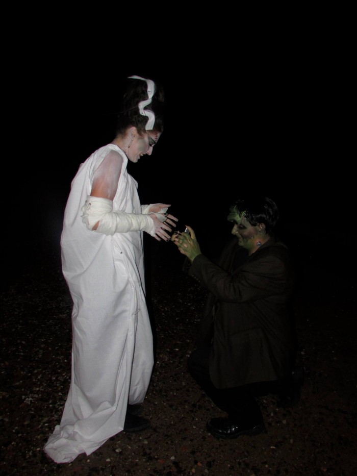 Image 2 of Kat and Dylan's Frankenstein Proposal