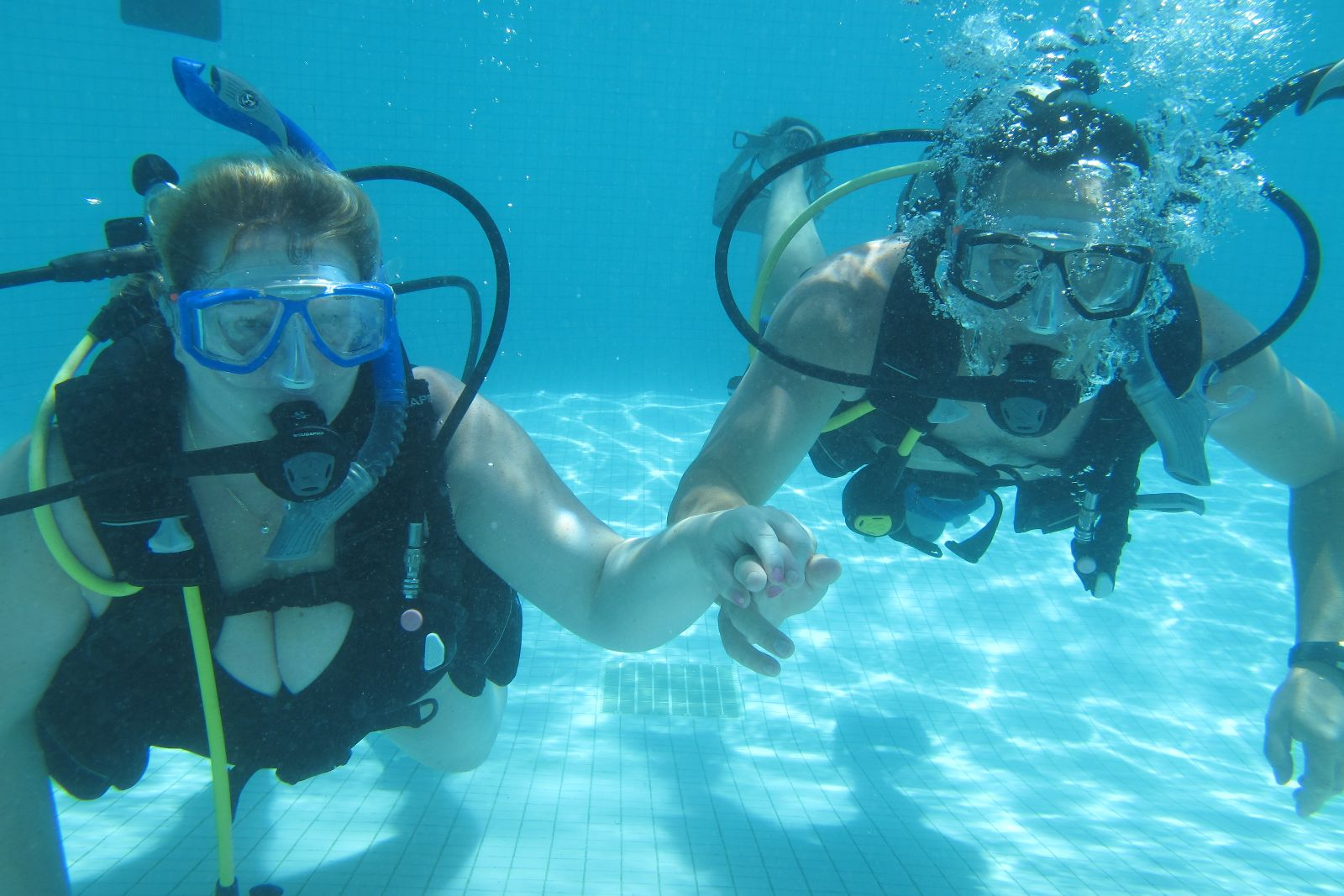 Scuba Diving Proposal At Sandals In Jamaica