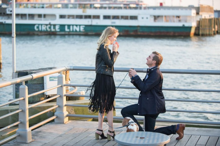 JqA8-Drone Captures Marriage Proposal in New York City