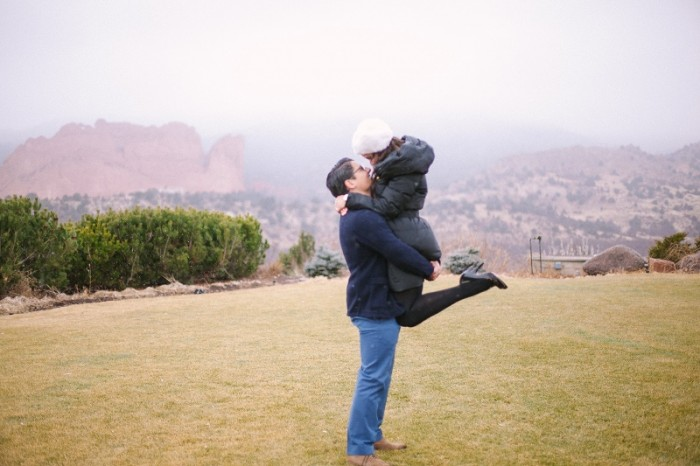 Image 7 of Ricardo and Vanessa's Snowy Proposal