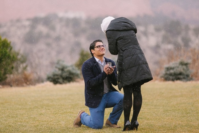 Image 6 of Ricardo and Vanessa's Snowy Proposal