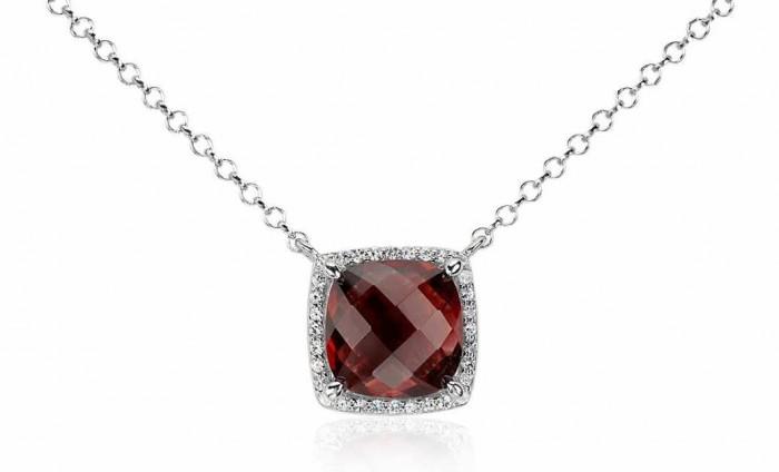 garnet necklace sale