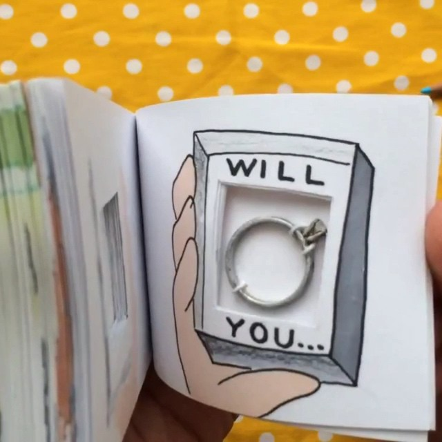 Image 5 of Most Liked Proposals on Instagram of 2015