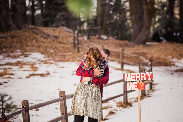 Cutest Christmas Marriage Proposal
