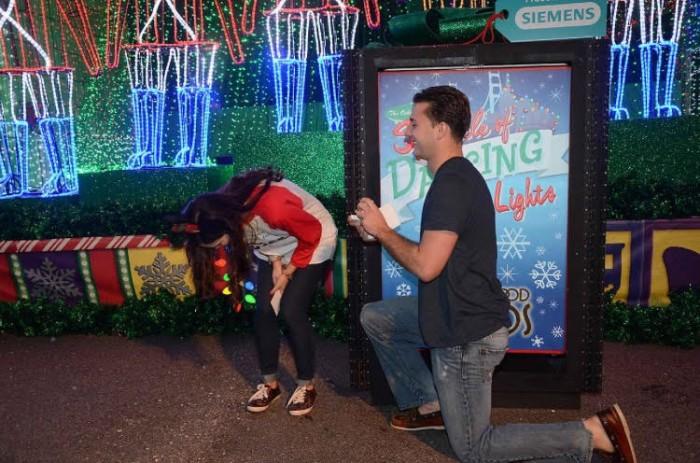 Disney Christmas Proposal 2