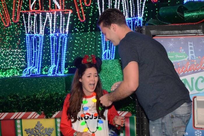 Disney Christmas Proposal