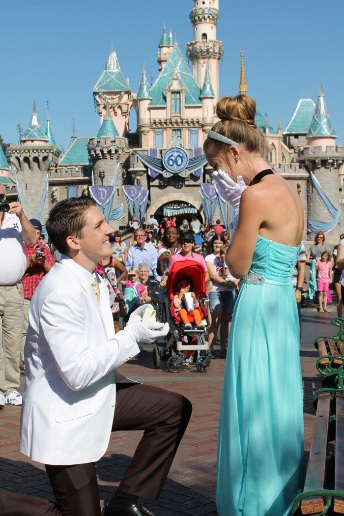 Disneyland Cinderella Princess Proposal