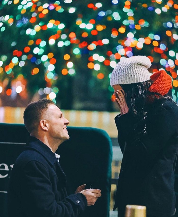 Marriage Proposal at Rockefeller Center (2)