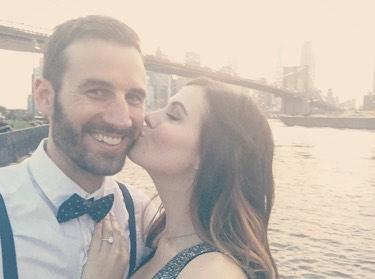 Wedding Proposal Ideas in Brooklyn Heights Promenade, New York
