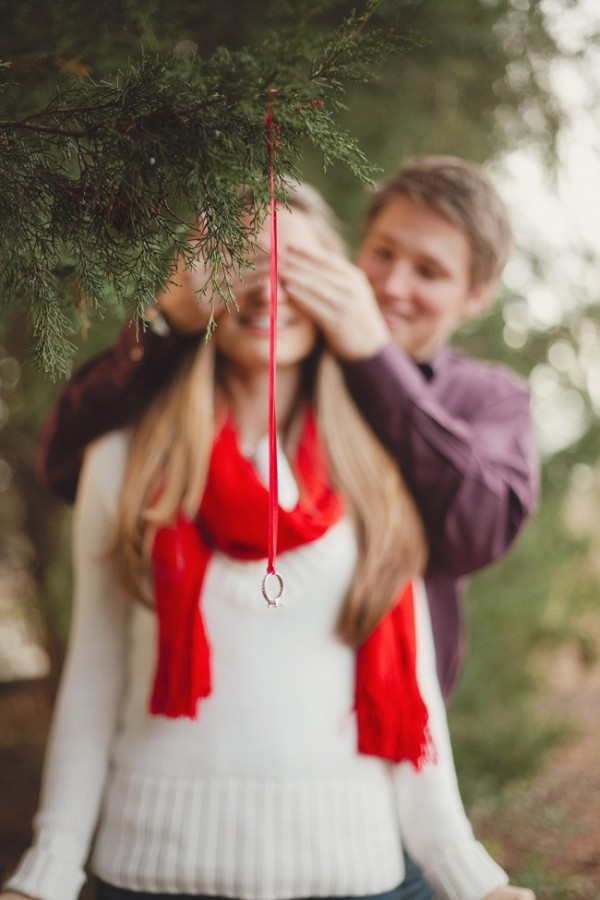 HowHeAsked Winter Proposals-Hearts on Fire