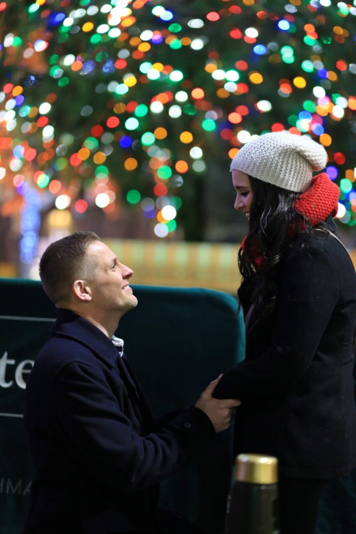 Marriage Proposal at Rockefeller Center (1)