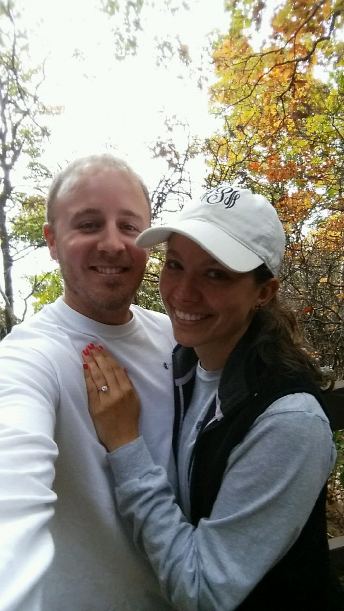 First Pic After We Got Engaged
