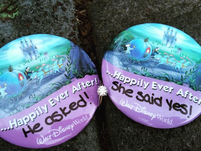 Kristen's Proposal in Walt Disney World's Magic Kingdom