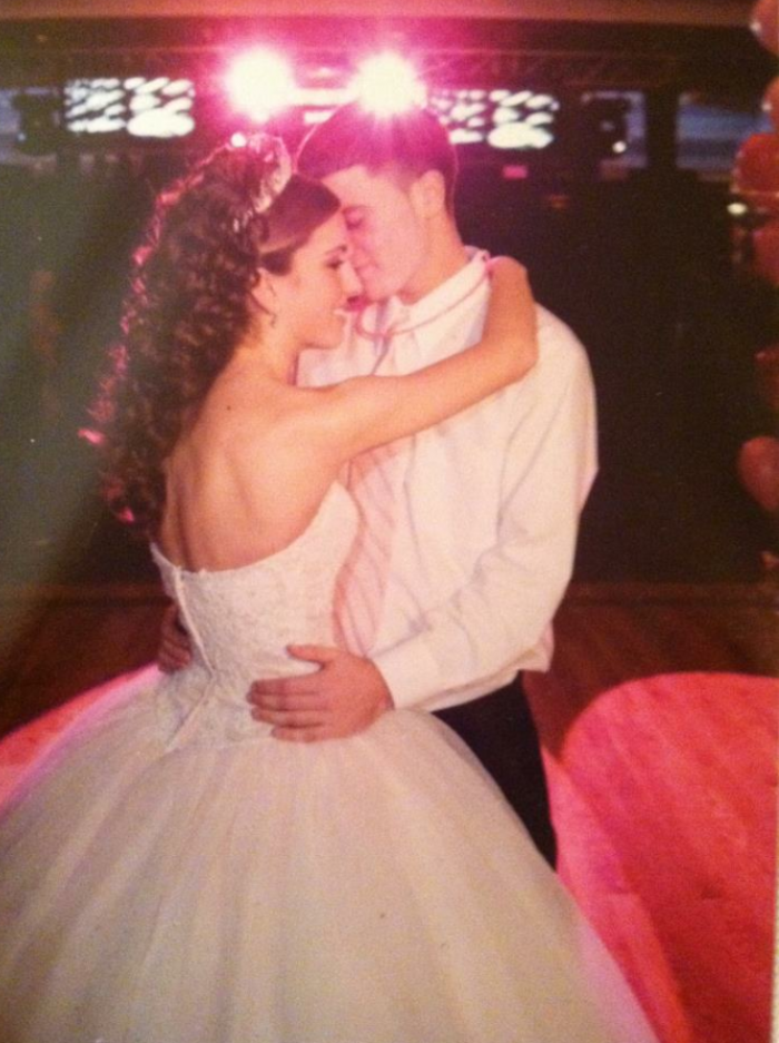 Our dance at my sweet 16