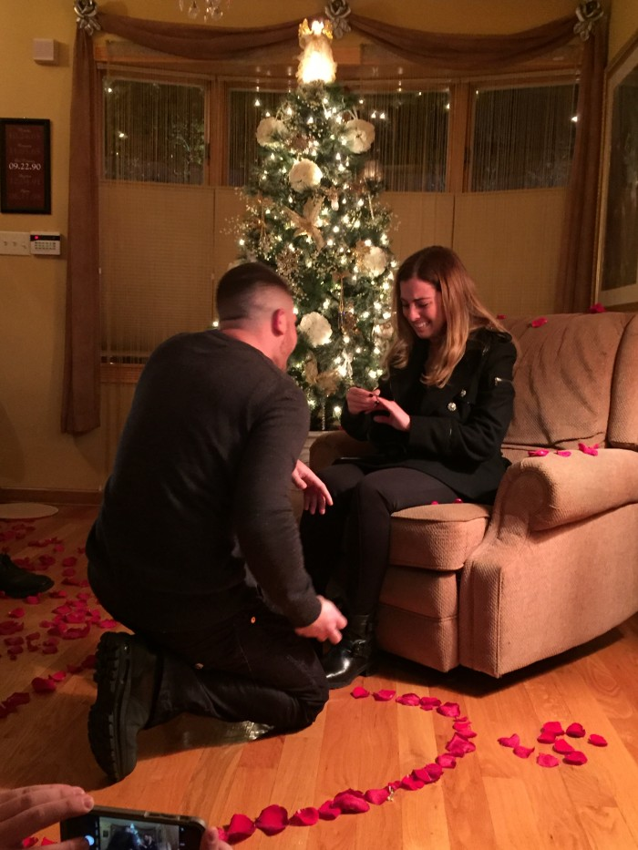 Stephan proposing