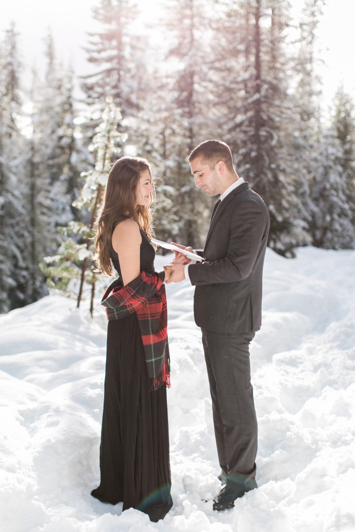 Wintery Proposal Shoot