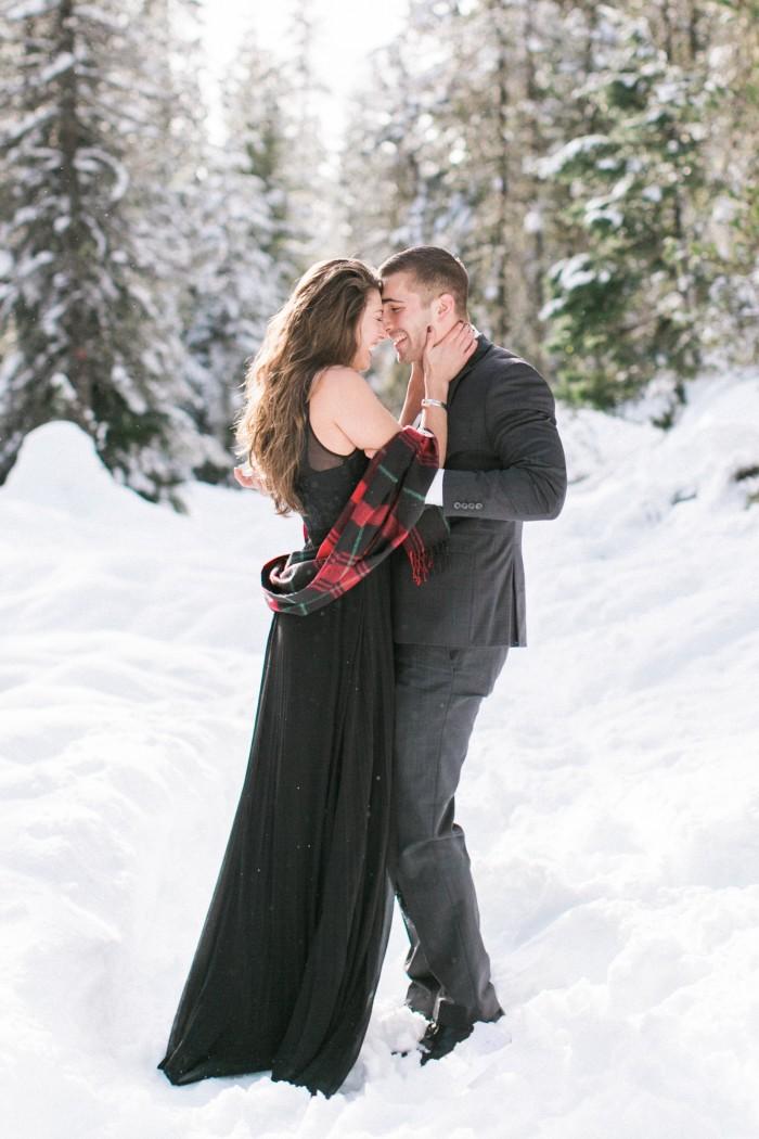Wintery Proposal Shoot