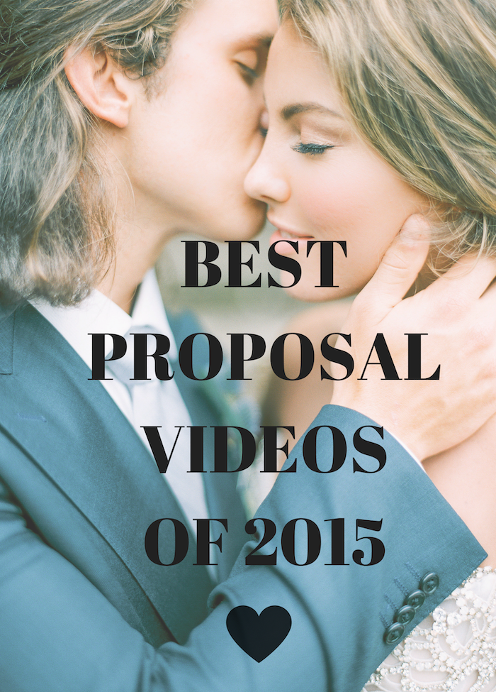 Cry Alert Watch 2015s Best Marriage Proposal Videos