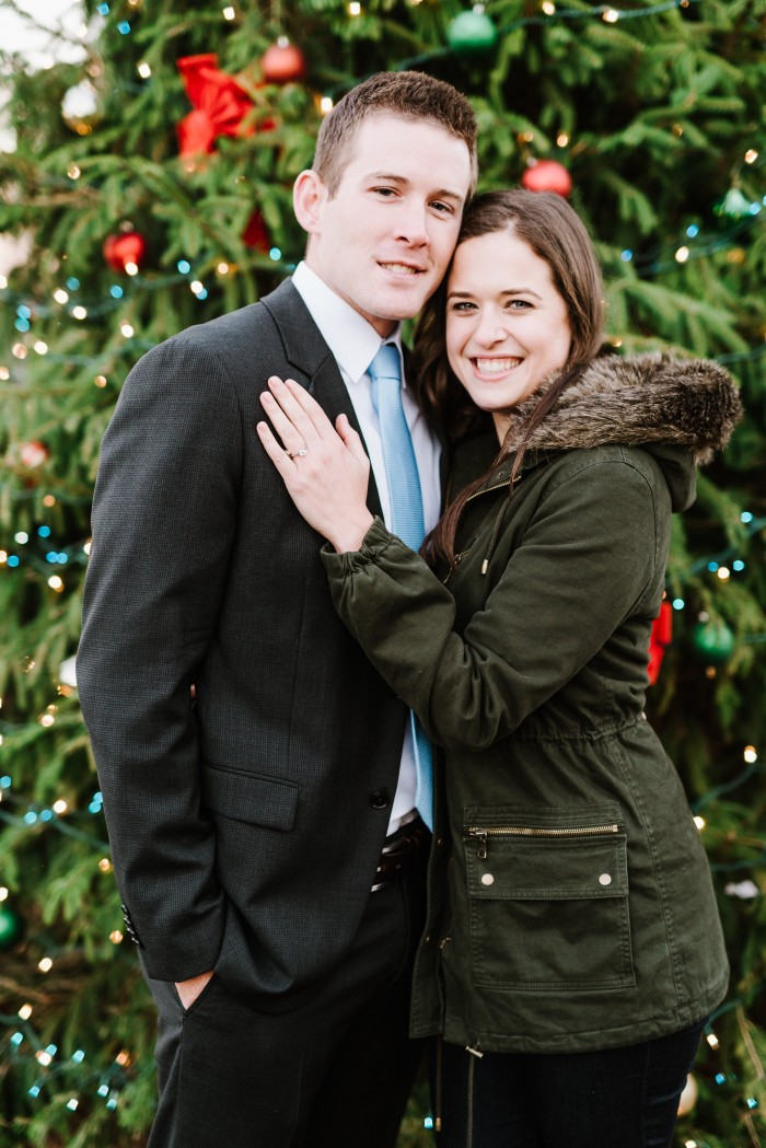 Christmas-Inspired Proposal