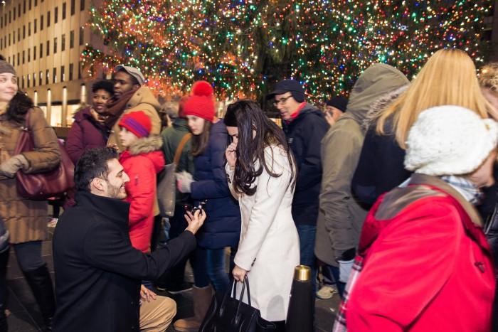 Image 4 of Iris and Andi's Rockefeller Center Christmas Tree Proposal