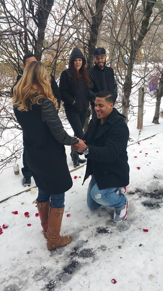 Jaclyn's Proposal in Staten Island's Snug Harbor Botanical Garden
