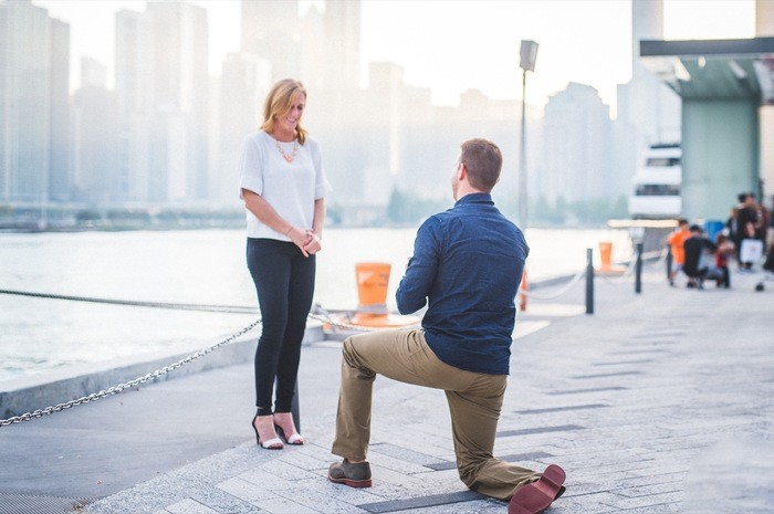Image 4 of Blake and Malorie's Chicago Proposal