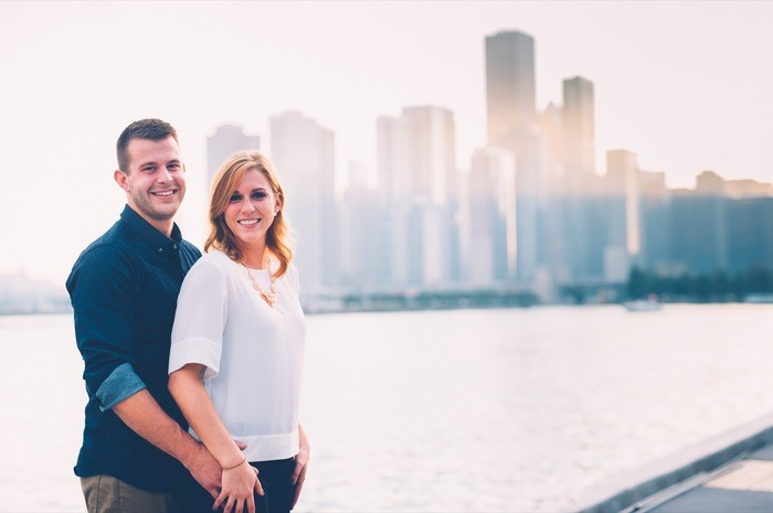 Image 3 of Blake and Malorie's Chicago Proposal