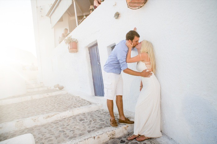 Image 7 of Bruno and Bryannah's Proposal in Santorini