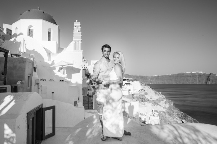 Image 5 of Bruno and Bryannah's Proposal in Santorini