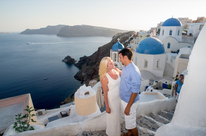 Image 2 of Bruno and Bryannah's Proposal in Santorini
