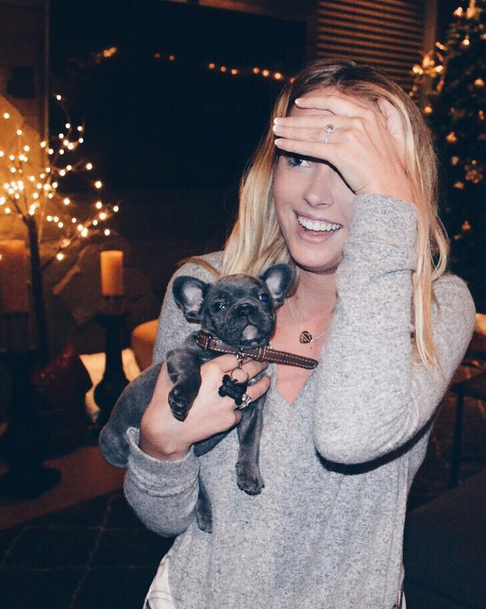 Image 11 of Karlie and Alec's Incredible Christmas Puppy Proposal