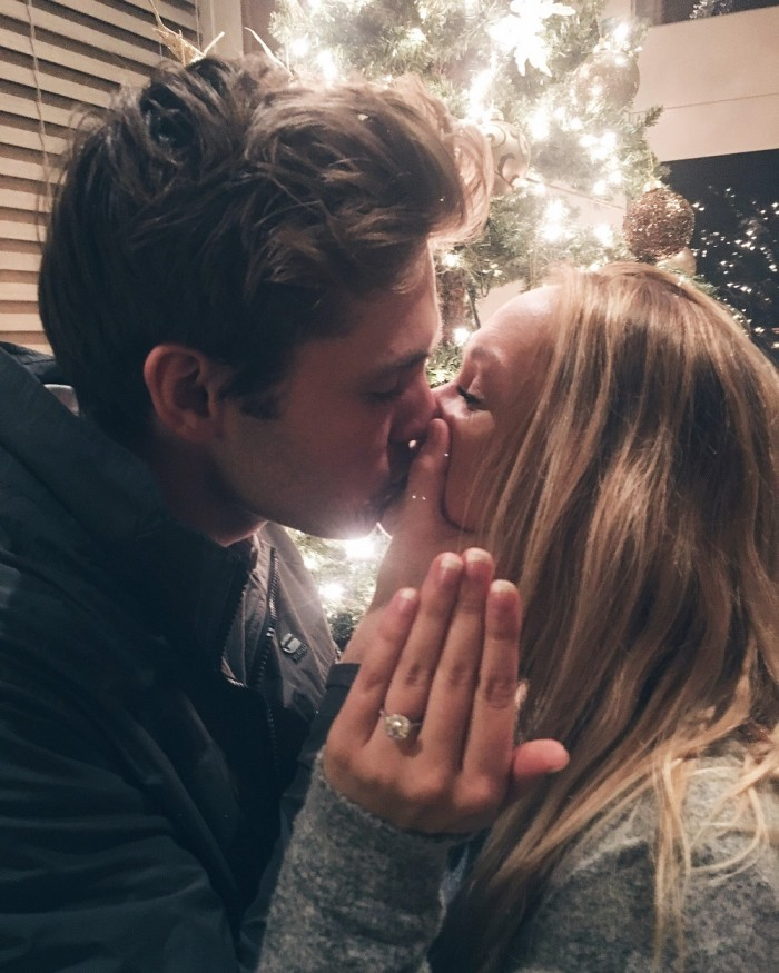 Image 10 of Karlie and Alec's Incredible Christmas Puppy Proposal