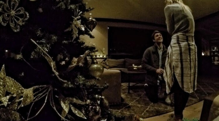 Image 9 of Karlie and Alec's Incredible Christmas Puppy Proposal