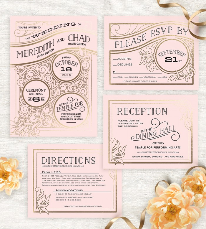 Image 5 of Meredith and Chad (and their beautiful Minted Stationery)