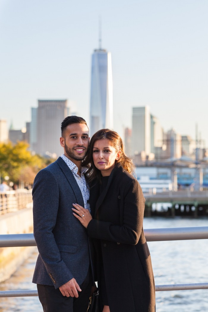 Image 1 of Ketan and Narissa's New York City Proposal