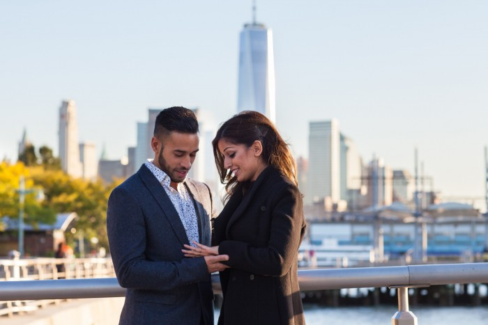 Image 8 of Ketan and Narissa's New York City Proposal