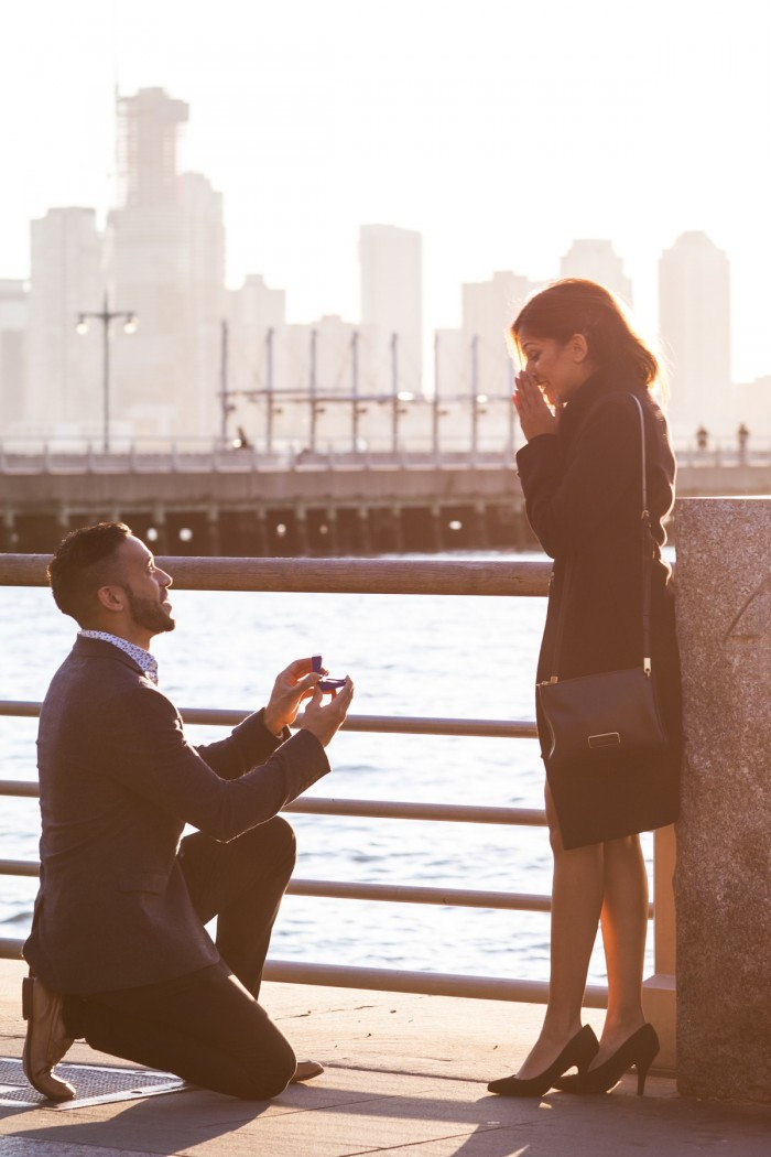 Image 3 of Ketan and Narissa's New York City Proposal
