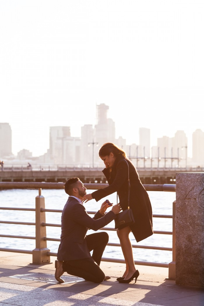 Image 4 of Ketan and Narissa's New York City Proposal