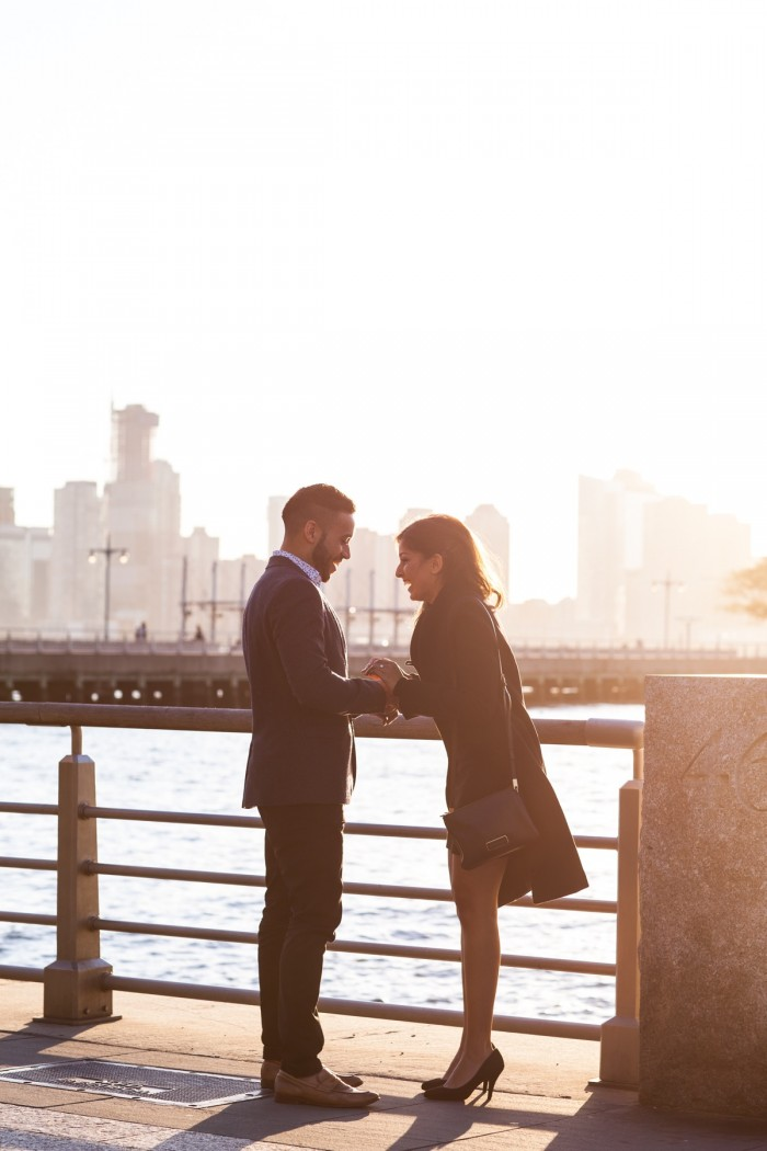 Image 5 of Ketan and Narissa's New York City Proposal